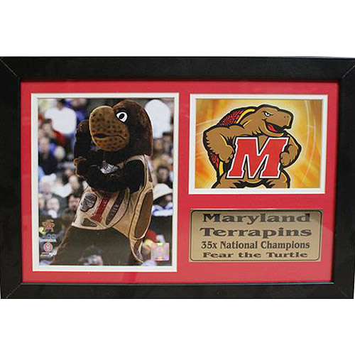 NCAA Maryland Photo Stat Frame, 12x18