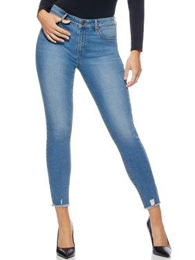 Sofia Jeans Rosa Curvy Ripped Hem High Waist Ankle Jean Women's