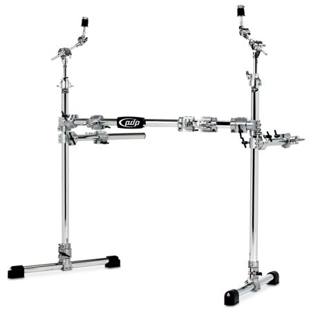 Drum Rack System (Pacific PDSRPK05 Chrome-Plated Main Drum Rack Package )