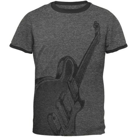 - Electric Air Guitar Funny Costume Mens Ringer T Shirt