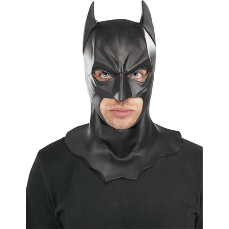 Batman Full Mask with Cowl Adult The Dark Knight Rises Halloween Costume, Style RU4893 - The Dark Knight Clown Mask