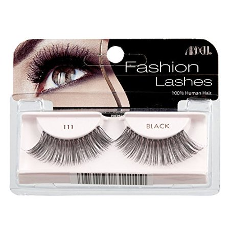 336ccaa3c4c Natural Eye Lashes #111, Ardell Fashion Lashes Glamour - 111 Black By Ardell  - Walmart.com