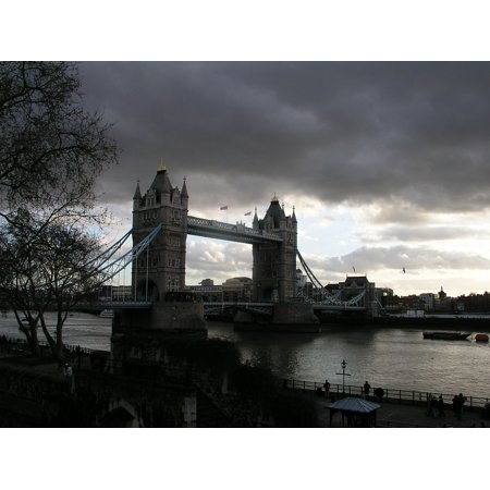 LAMINATED POSTER Thames Bridge Uk Landmark England London City Poster Print 24 x 36 - Thames Valley Police Halloween Poster