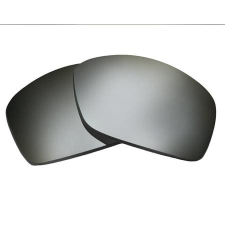 Replacement Lenses Compatible with OAKLEY Hijinx Non-Polarized Black Iridium