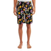 Rick & Morty Mens Psychedelic Nightmare Jam Shorts