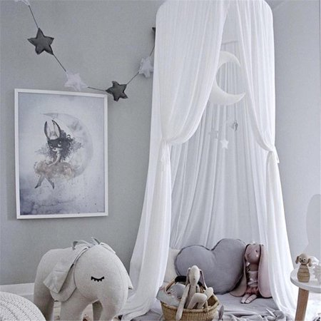 Baby Bed Canopy Bedcover Mosquito Net Curtain Bedding Dome Tent Room Decor White](Bed Canopy Tent)