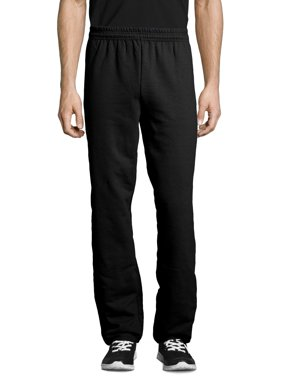 Hanes Men's and Big Men's EcoSmart Fleece Sweatpant, Up to Size 3XL