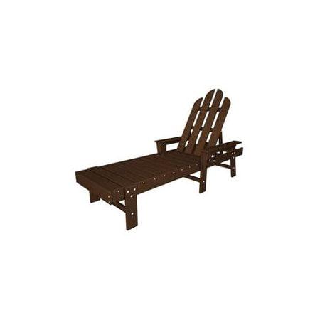 Long Island Chaise Lounge - Mahogany