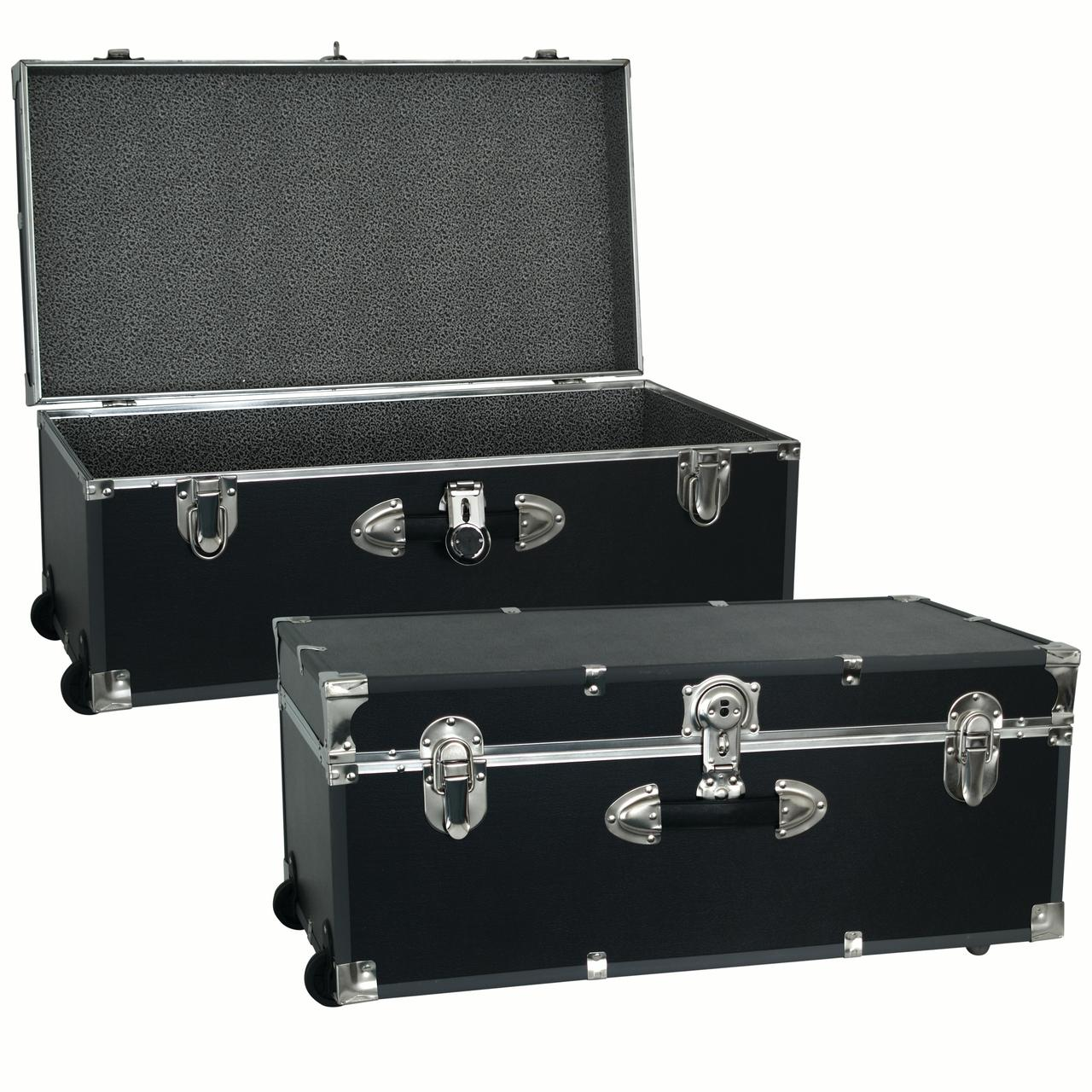 Seward Trunk 30-Inch Footlocker Trunk with Wheels  sc 1 st  Walmart & Trunks - Walmart.com