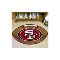 San Francisco 49ers Football Mat