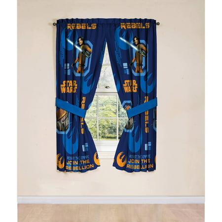 Star Wars Rebels Boys Bedroom Curtain Panels 2 Count