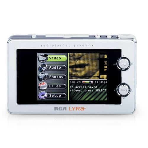RCA RD2780 20GB Lyra Personal Digital Multi-Media Player