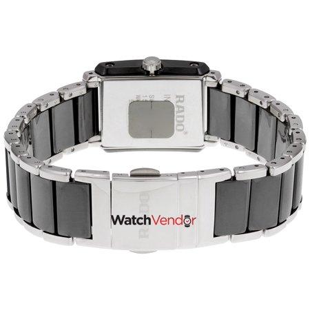 Rado Integral Quartz Black Ceramic and Stainless Steel Ladies Watch R20613712 - image 3 de 3