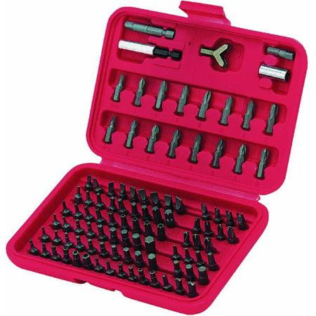 best way tools 100 piece screwdriver bit set. Black Bedroom Furniture Sets. Home Design Ideas