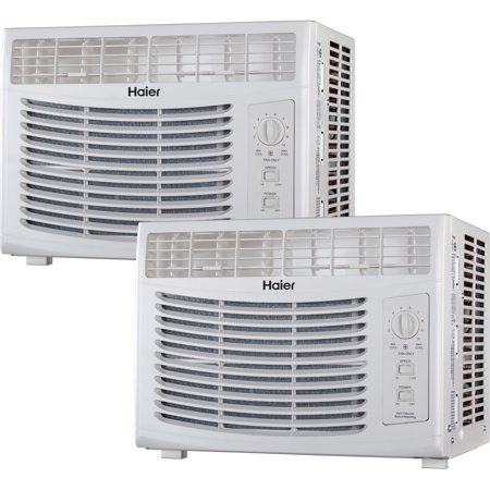 Haier 5 000 Btu Window Air Conditioner 115v Hwf05xcr L