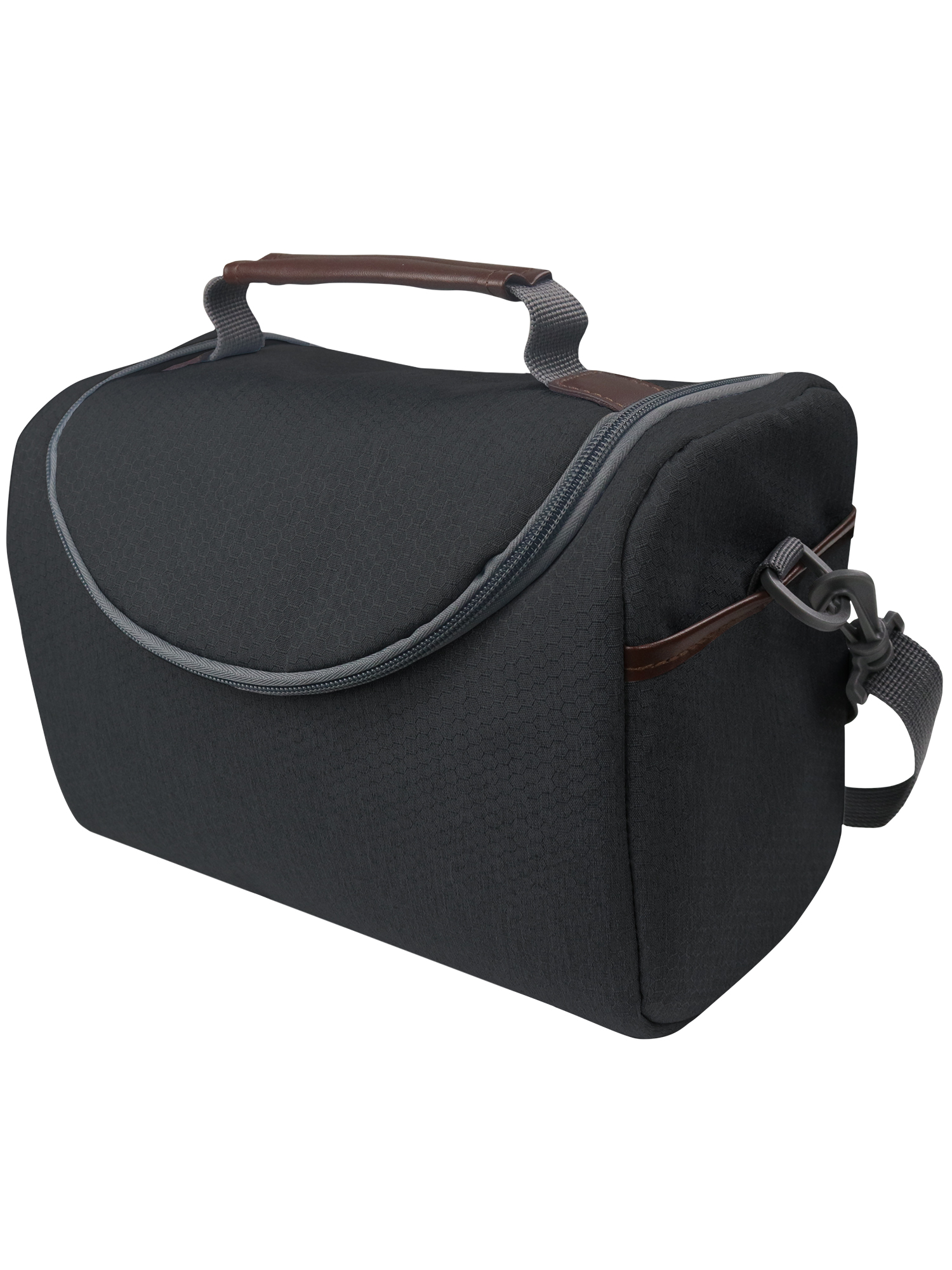 Mainstays Heritage Lunch Bag, Black