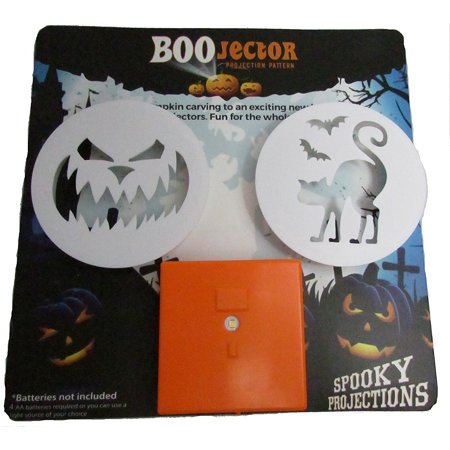 Halloween Boojectors And LED Light For Pumpkin Decorating, Carving, Indoor or Outdoor Projections (Pumpkin Face And Cat) - Simple Halloween Cat Faces