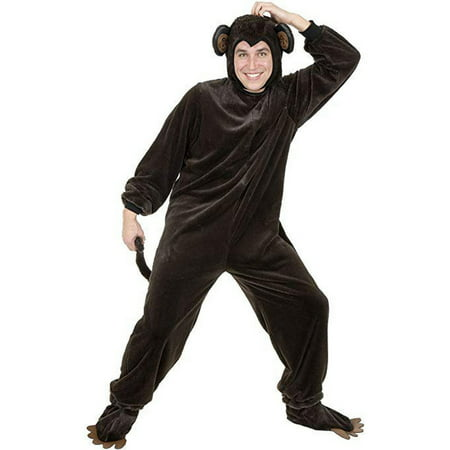 Halloween Monkey - Micro Fiber Adult (Women's Monkey Costume)