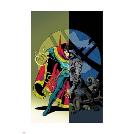 Strange Cover - Doctor Strange #11 Cover Art Laminated Poster Wall Art By Kevin Nowlan