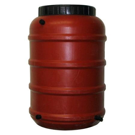 Upcycle 50 Gallon Terra-Cotta Rain Barrel ()