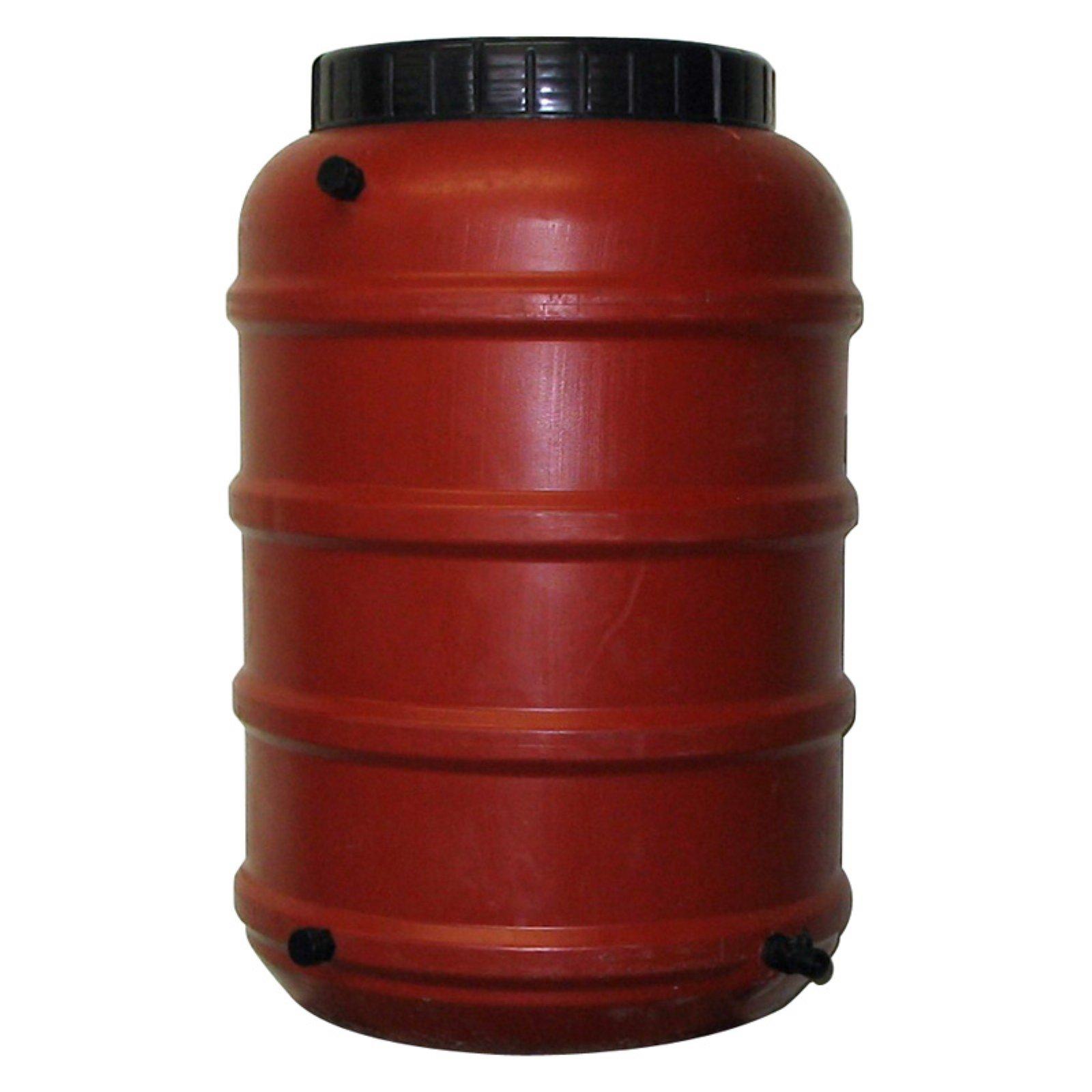 Upcycle 50 Gallon Terra-Cotta Rain Barrel