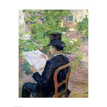 Monsieur Desire Dihau Poster Print by Henri De Toulouse-Lautrec - 24 x 36 in. - Large - image 1 of 1