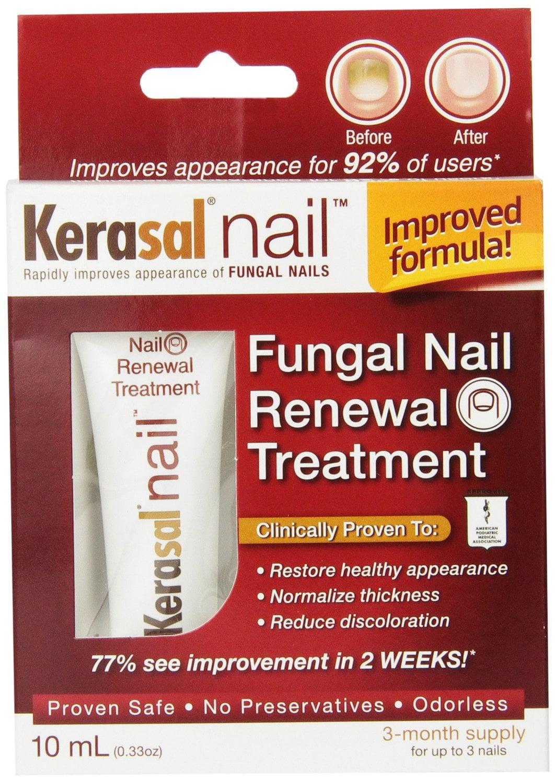 2 Pack Kerasal Nail Fungal Nail Renewal Treatment, 10 mL / 0.33 oz ...