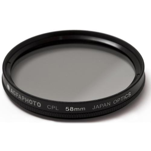 Agfa APCPL58 Polarizing Glass Filter (CPL), 58mm by Agfa