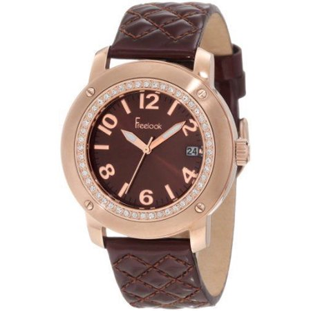 Brown Sunray Dial - Women's HA1812RG-2 Brown Leather Band Sunray Brown Dial Rose Gold Watch