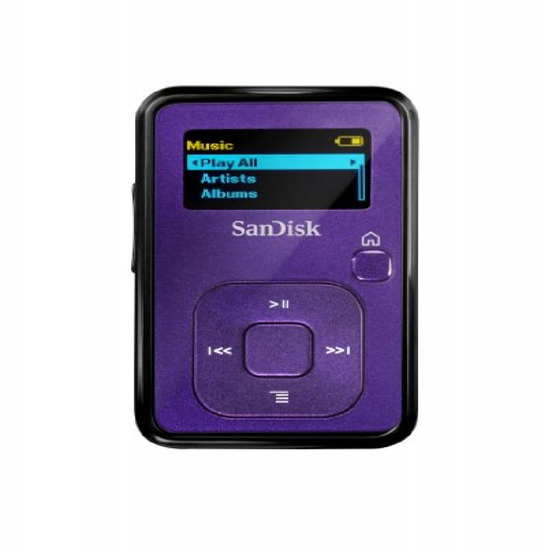 Sandisk Sansa Clip+ 4 GB MP3 Player (Indigo) (Discontinue...
