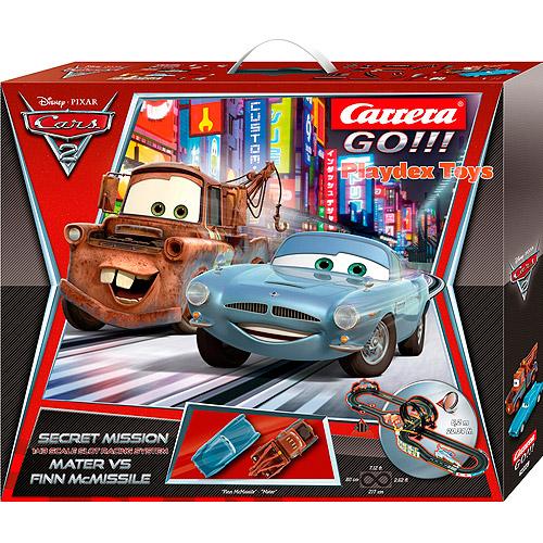 Carrera Go!!! Disney Cars 2 Secret Missi