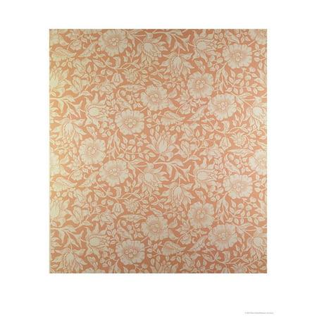 "Mallow"" Wallpaper Design"" Print Wall Art By William Morris"