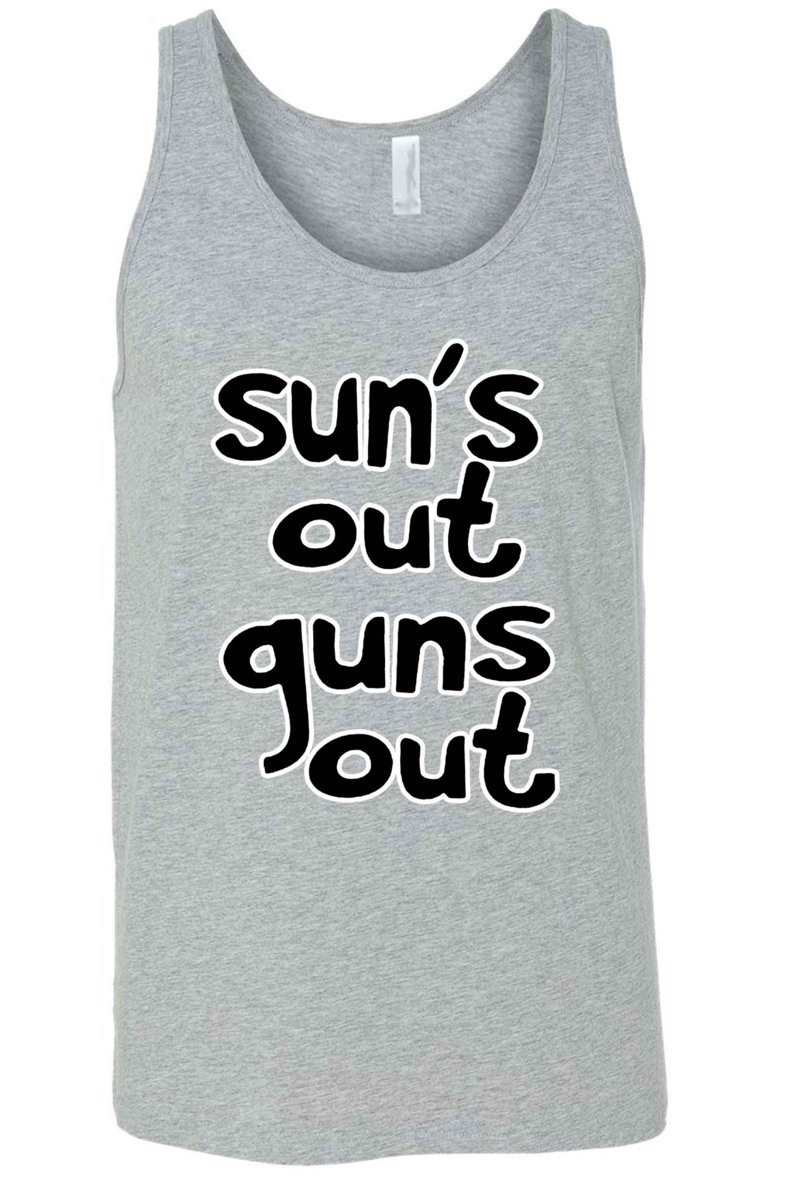 Men's Sun's Out Guns Out Tank Top Shirt