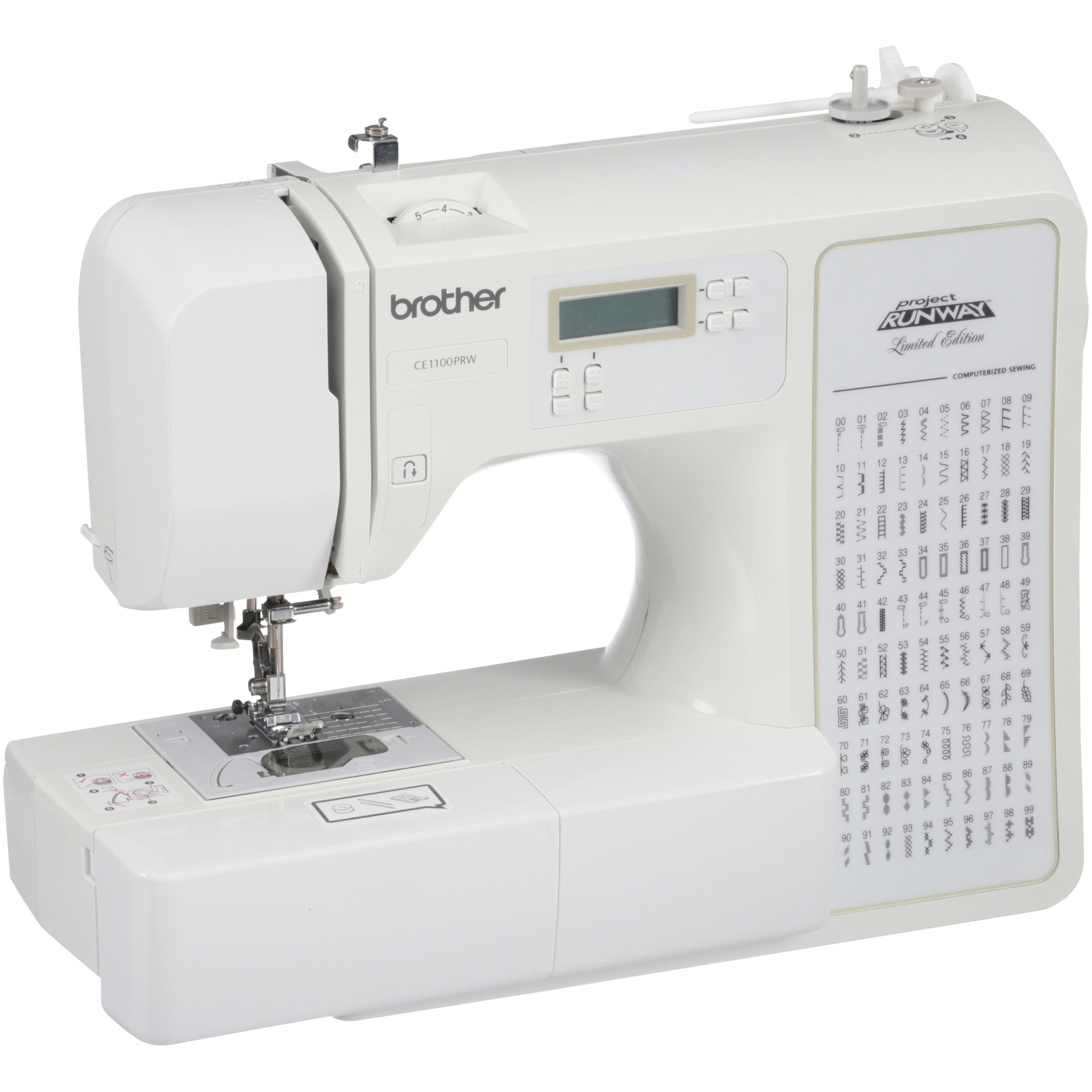 Refurbished Brother Project Runway Computerized Sewing Machine RCE1100PRW 100 Stitches