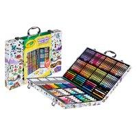Crayola Zigzag Inspiration Art Case, 140 Pieces, Art Set for Kids