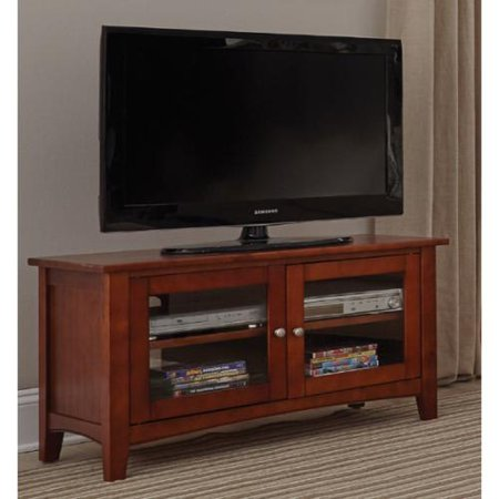 alaterre fair haven 36 inch wood tv stand with glass doors. Black Bedroom Furniture Sets. Home Design Ideas