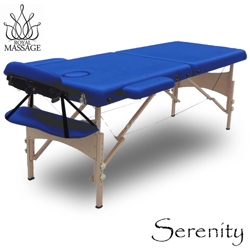serenity deluxe portable folding massage table w5 bonus items