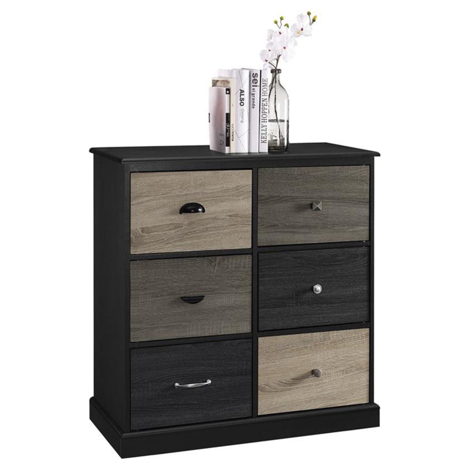 Ameriwood Home Blackburn 6 Door Storage Cabinet With