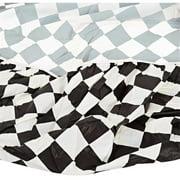 Kwik Covers 72-BLKW 72 in. ROUND KWIK-COVER BLACK-WHITE CHECK