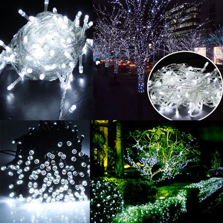 Zimtown Solar Powered 200 LED String Fairy Lights Garden Outdoor Xmas Party Waterproof Lamp