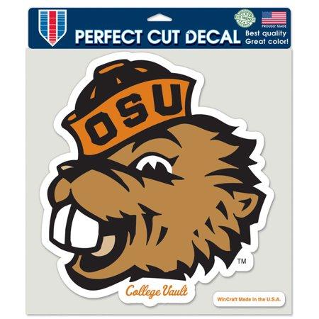 Oregon State Beavers Die (Oregon State Beavers Official NCAA 8 inch x 8 inch  Die Cut Car Decal by)