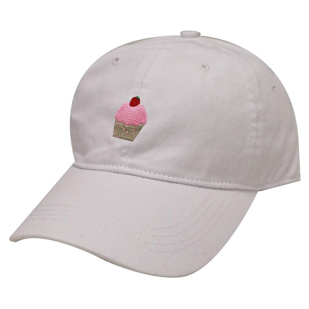 City Hunter C104 Cup Cake Cotton Baseball Dad Cap 19 Colors (White)