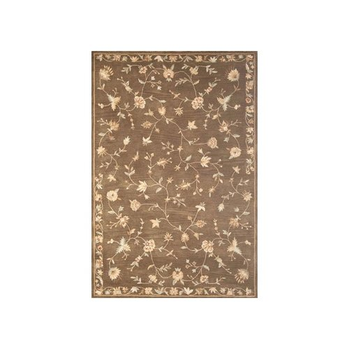 Rizzy Home Floral Brown Rug