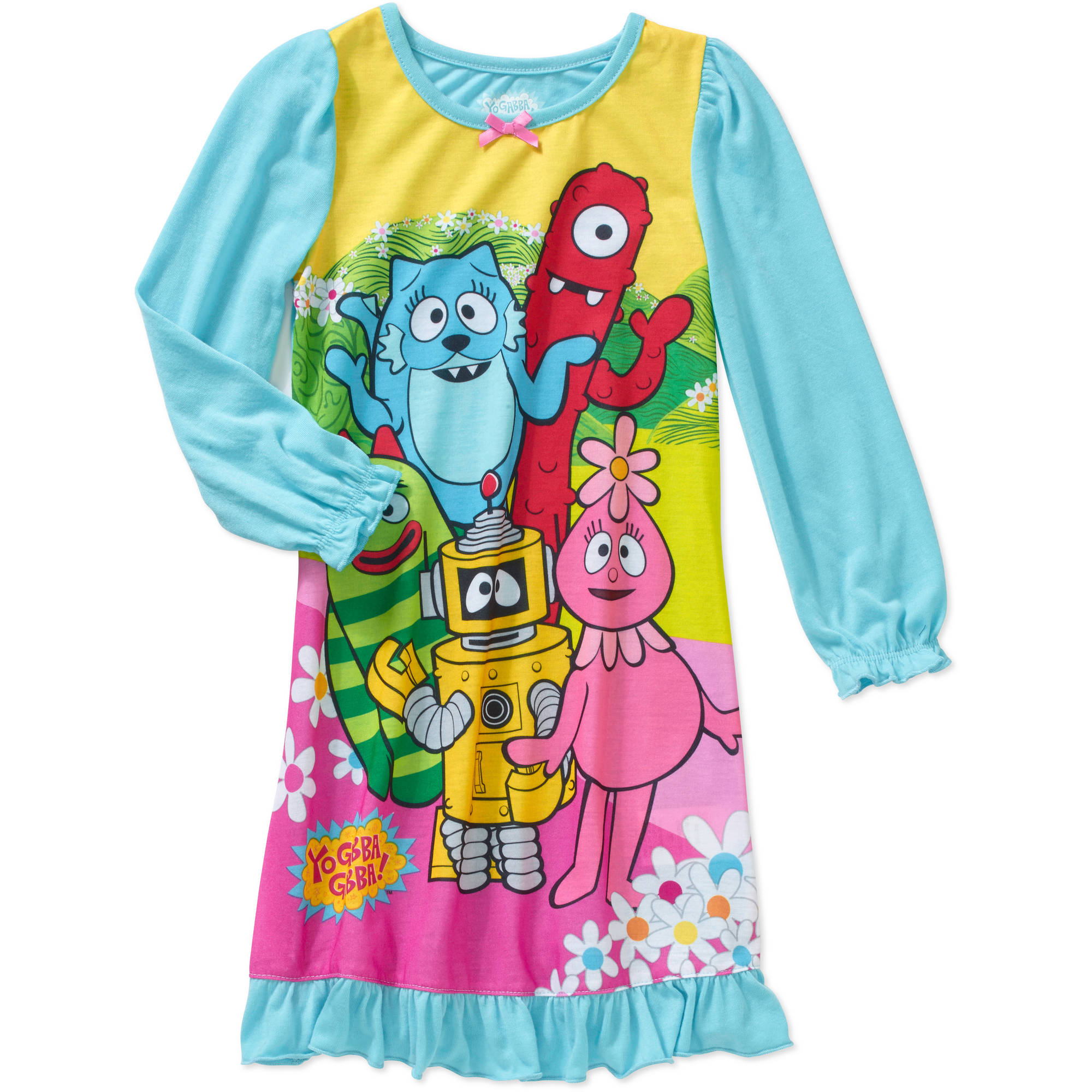Yo Gabba! Gabba Toddler Girls' Nightgown