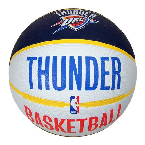 Oklahoma City Thunder Official NBA 29.5 inch  Basketball by Spalding
