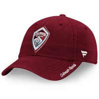 Colorado Rapids Fanatics Branded Women's Fundamental Adjustable Hat - Burgundy - OSFA