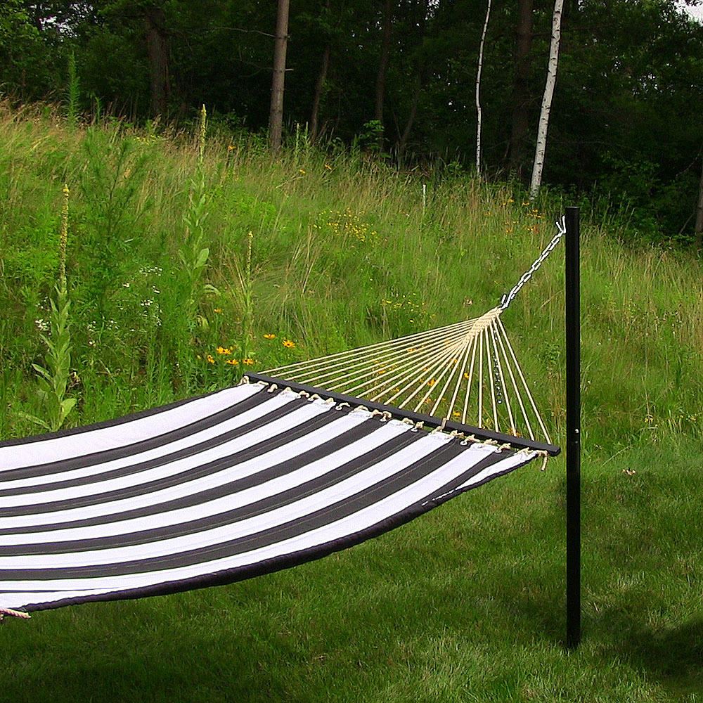 Sunnydaze Hammock Hanging In Ground Post/Stand, 52 Inches Tall