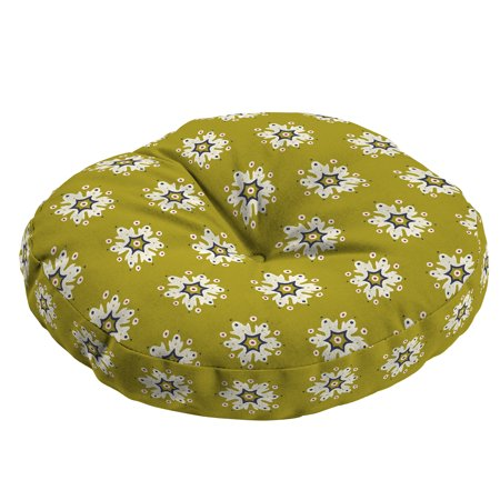 Arden + Artisans Romanov Medallion Outdoor 15 x 15 in. Round Bistro Seat Cushion ()