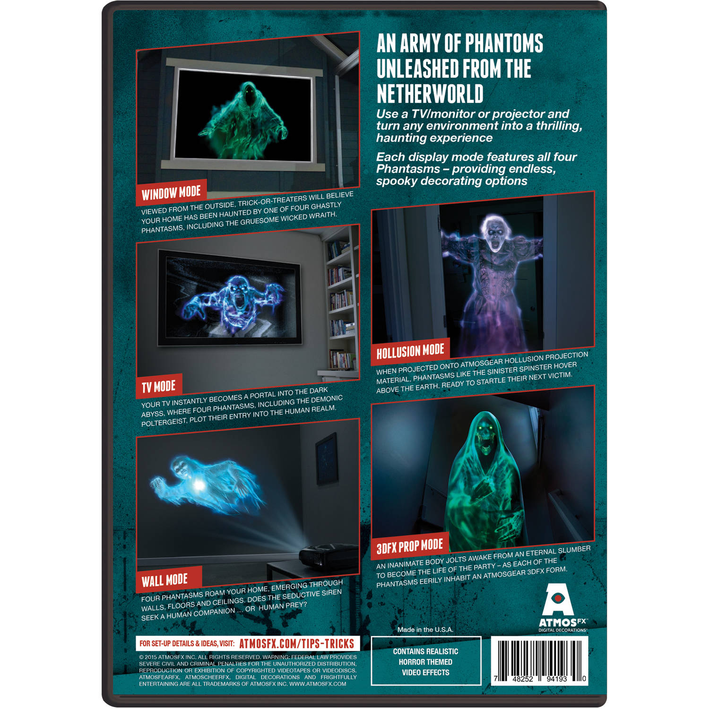 atmosfearfx dvd digital halloween decoration walmartcom