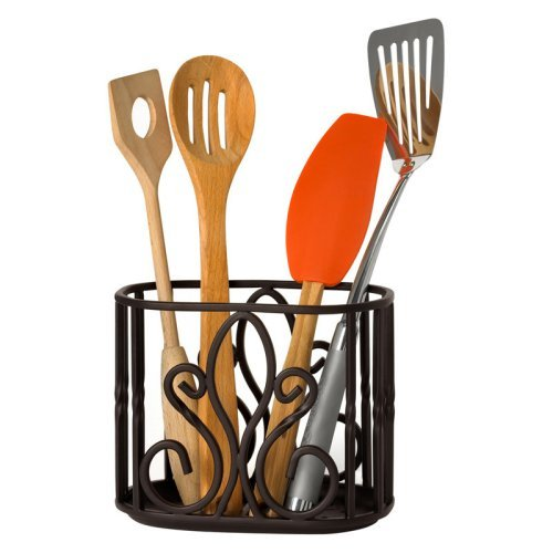 Spectrum Patrice Utensil Holder - Bronze